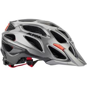 Alpina Mythos 3.0 Kask rowerowy, darksilver-black-red